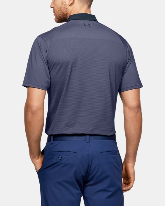 Men's UA Iso-Chill Gradient Polo, Blue, pdpMainDesktop image number 2