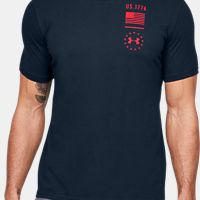 Deals on UA Freedom Tried & True Mens Tactical Graphic T-Shirt