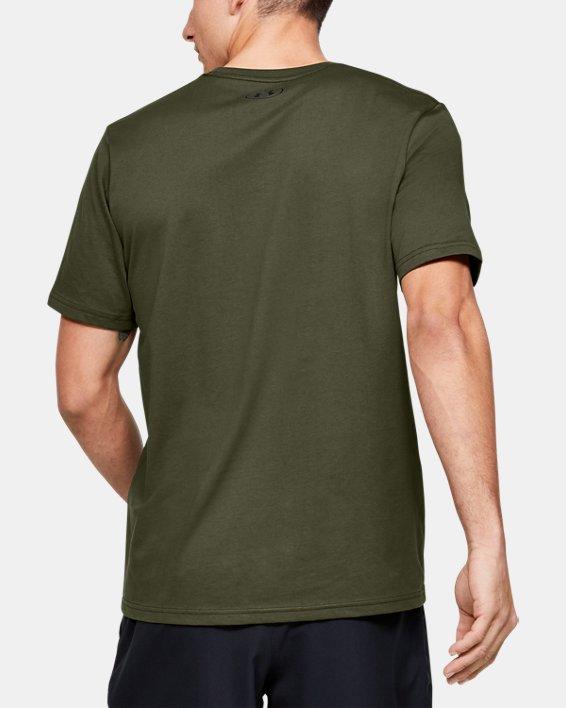 Men's UA Freedom Standard T-Shirt, Green, pdpMainDesktop image number 2
