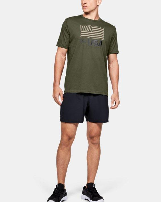 Men's UA Freedom Standard T-Shirt, Green, pdpMainDesktop image number 1