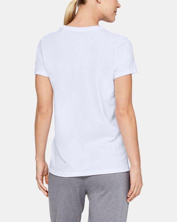 T-shirt à manches courtes UA Pride UWW pour femme, White, pdpMainDesktop image number 1