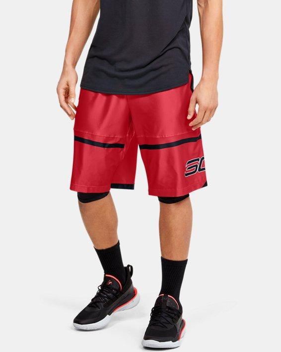 """Men's SC30™ Pick 'N Pop 11"""" Shorts, Red, pdpMainDesktop image number 0"""