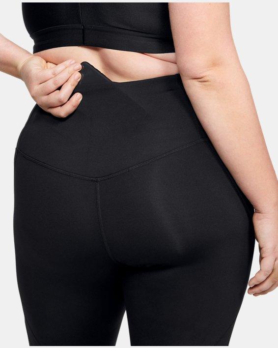 Women's UA RUSH™ Crop, Black, pdpMainDesktop image number 7
