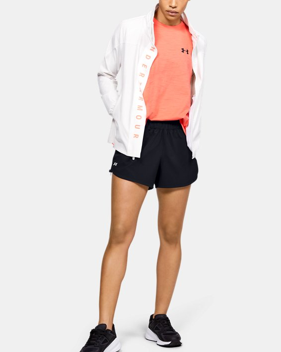 Women's UA RECOVER™ Woven Shorts, Black, pdpMainDesktop image number 1