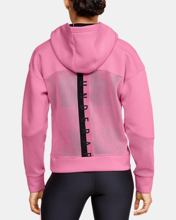 Women's UA /MOVE Hoodie, Pink, pdpMainDesktop image number 0