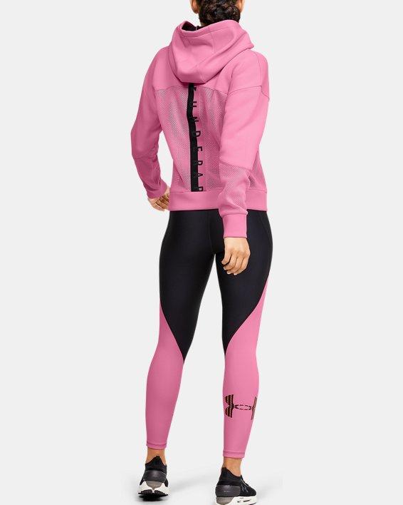 Women's UA /MOVE Hoodie, Pink, pdpMainDesktop image number 1