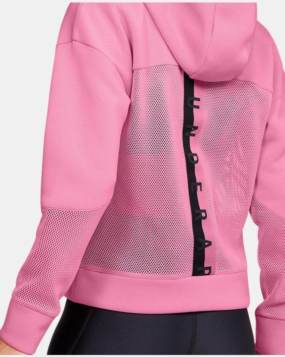 Women's UA /MOVE Hoodie, Pink, pdpMainDesktop image number 3