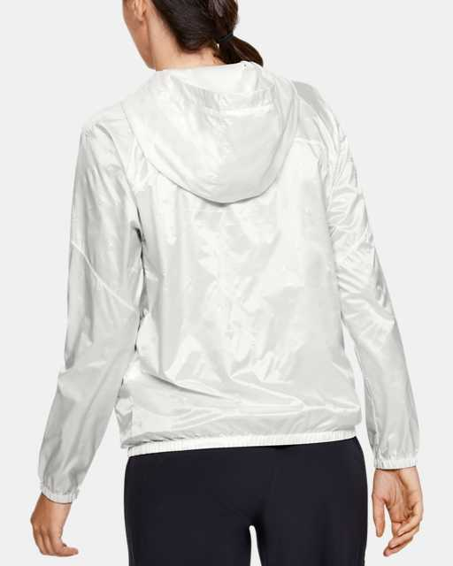 Women's UA Woven Translucent Full Zip