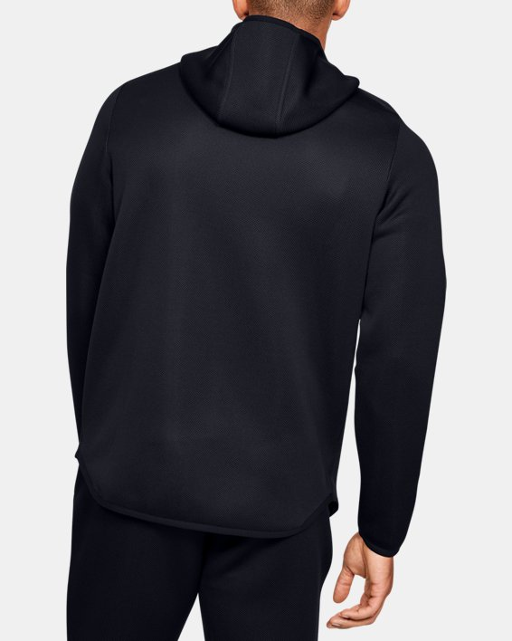 Men's UA /MOVE Full Zip Hoodie, Black, pdpMainDesktop image number 2