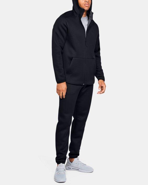 Men's UA /MOVE Full Zip Hoodie, Black, pdpMainDesktop image number 0