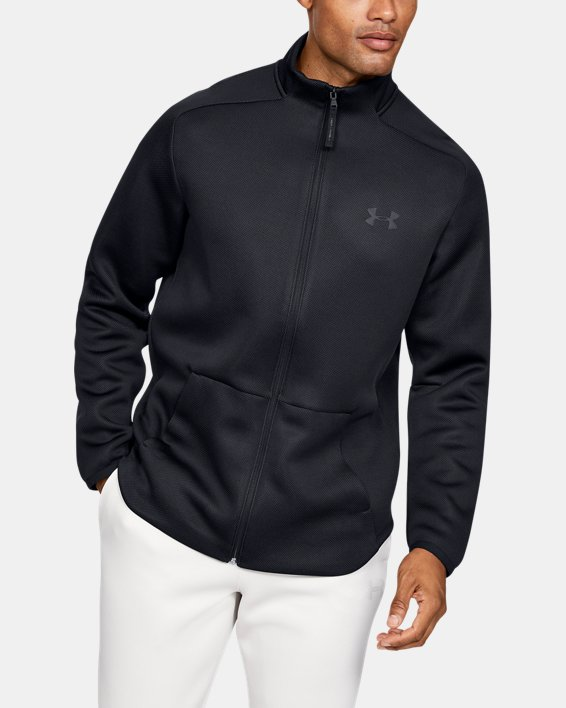 Men's UA /MOVE Track Jacket, Black, pdpMainDesktop image number 0