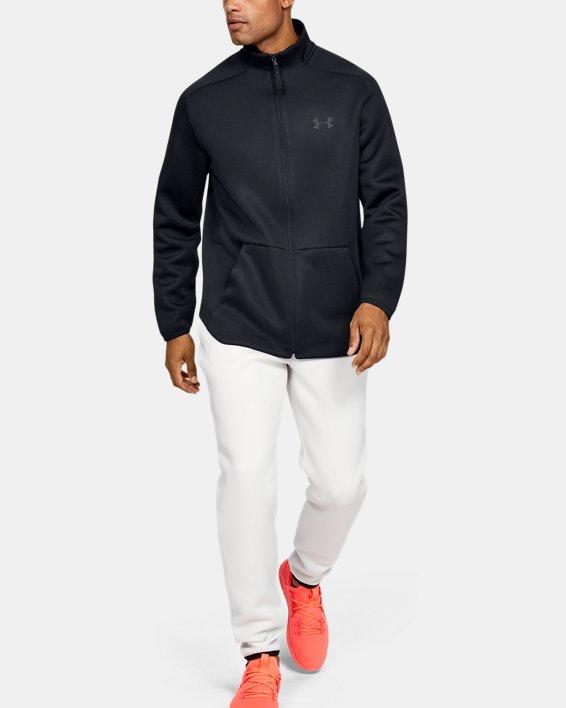 Men's UA /MOVE Track Jacket, Black, pdpMainDesktop image number 1