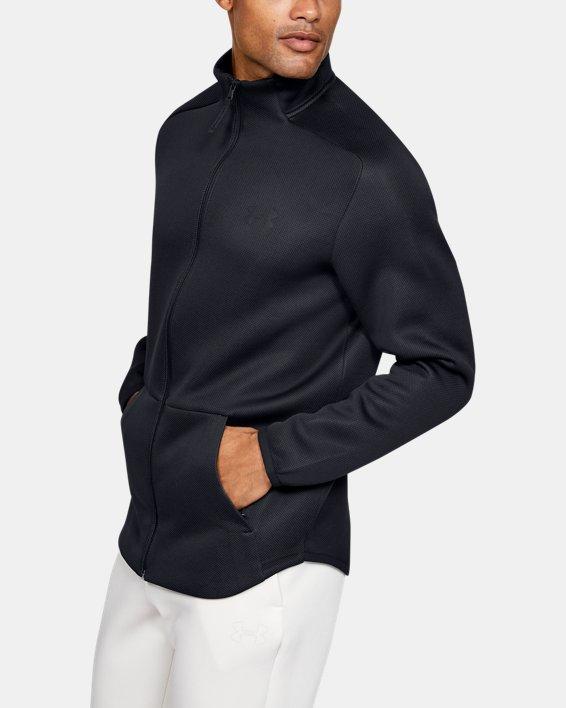 Men's UA /MOVE Track Jacket, Black, pdpMainDesktop image number 3