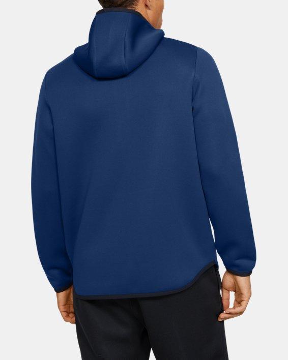 Men's UA /MOVE ½ Zip Hoodie, Blue, pdpMainDesktop image number 2