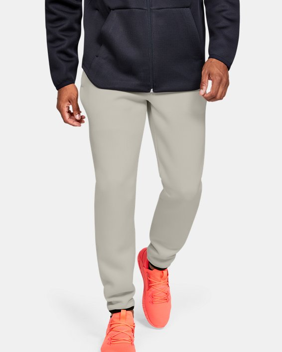 Men's UA /MOVE Pants, White, pdpMainDesktop image number 0