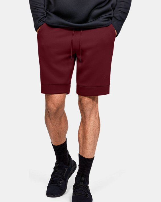 Men's UA /MOVE Shorts, Red, pdpMainDesktop image number 0