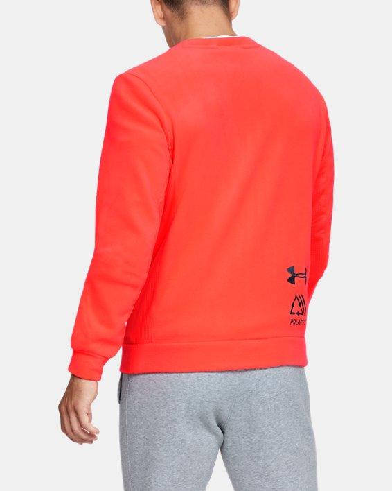Polaire UA Trek pour homme, Orange, pdpMainDesktop image number 2