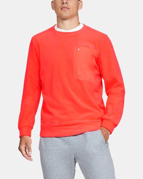 Polaire UA Trek pour homme, Orange, pdpMainDesktop image number 0