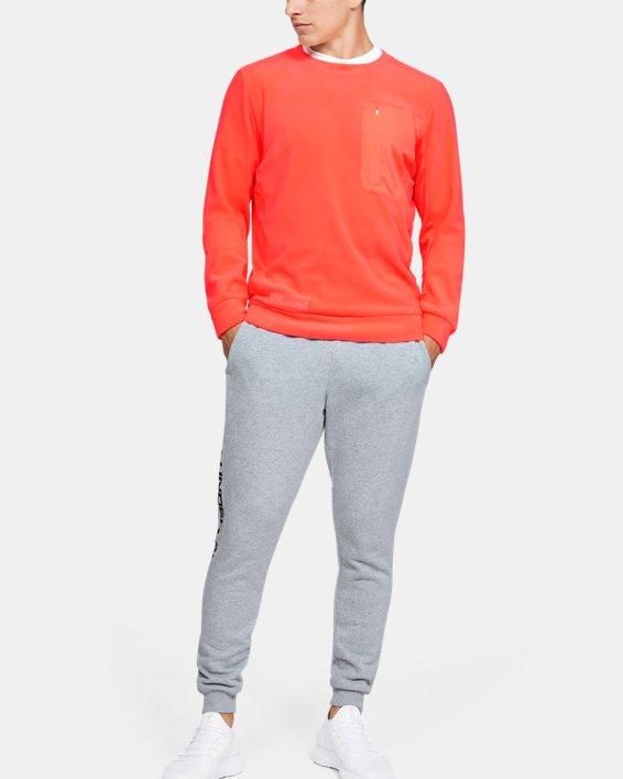 Polaire UA Trek pour homme, Orange, pdpMainDesktop image number 1