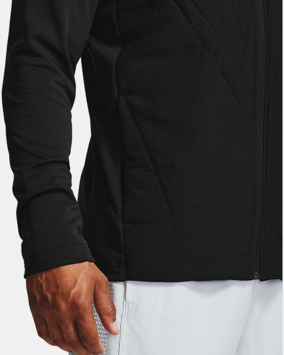 Men's ColdGear® Sprint Hybrid Jacket, Black, pdpMainDesktop image number 4