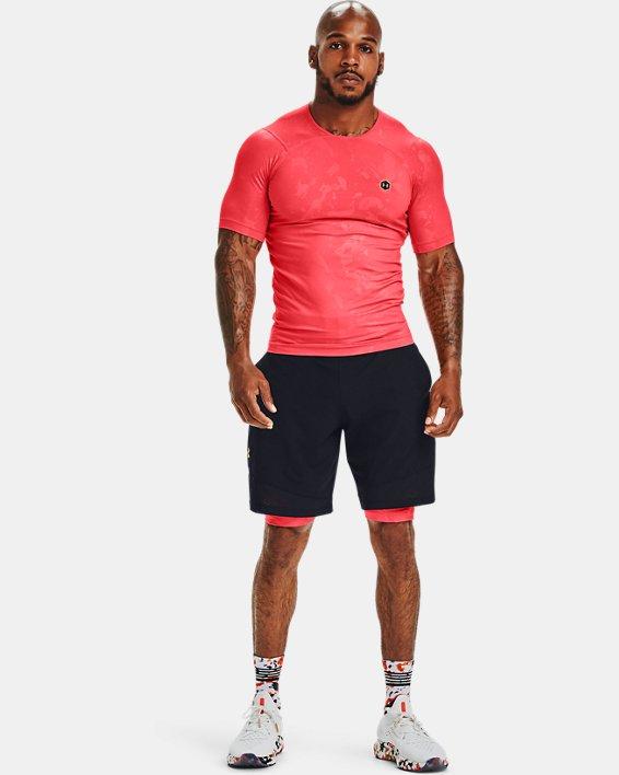 Men's UA Vanish Woven Upstream Camo Shorts, Black, pdpMainDesktop image number 0