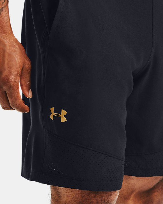Men's UA Vanish Woven Upstream Camo Shorts, Black, pdpMainDesktop image number 5