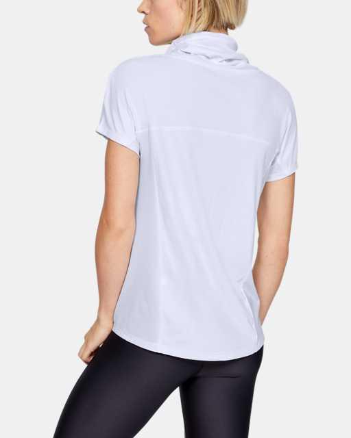 Women's UA Iso0Chill Cowl Neck Short Sleeve