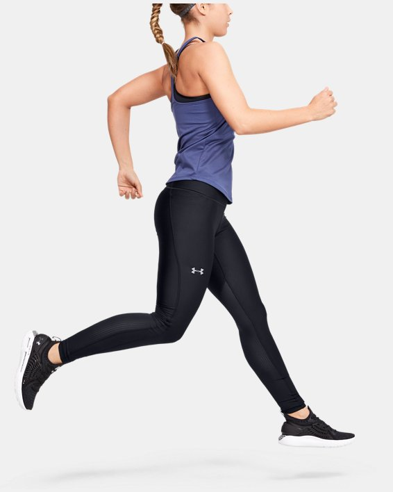 Women's UA Mileage Leggings, Black, pdpMainDesktop image number 1