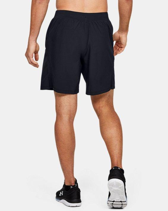 Men's UA Speedpocket 2-in-1 Shorts, Black, pdpMainDesktop image number 2