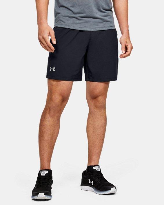 Men's UA Speedpocket 2-in-1 Shorts, Black, pdpMainDesktop image number 0
