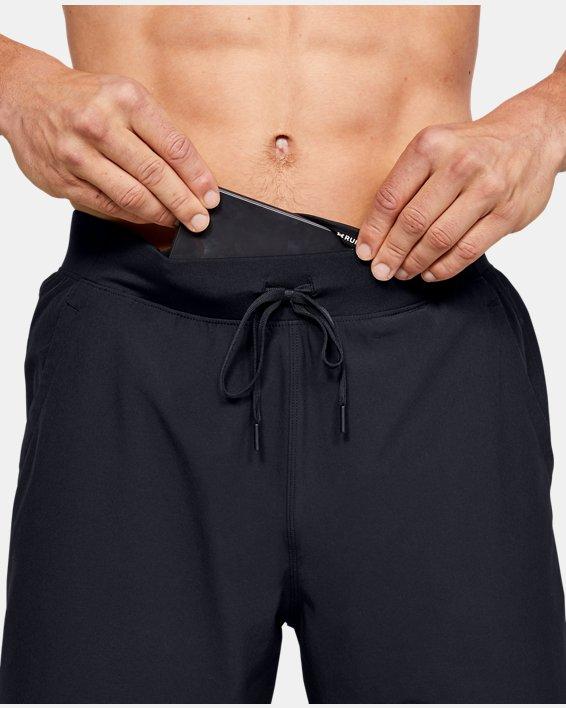 Men's UA Speedpocket 2-in-1 Shorts, Black, pdpMainDesktop image number 5