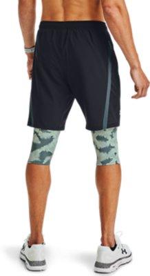 New Large Blue Under Armour Men/'s UA Launch SW Long Shorts