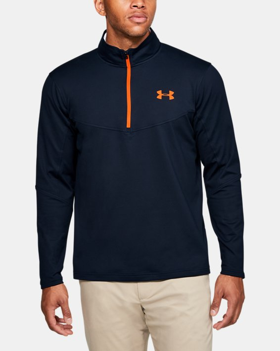Men's UA Storm Midlayer ½ Zip, Navy, pdpMainDesktop image number 0