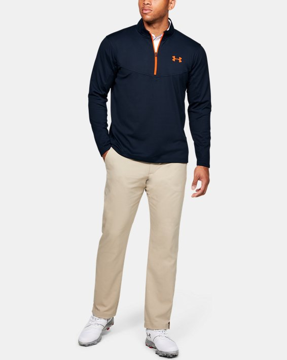 Sweat UA Storm Midlayer ½ Zip pour homme, Navy, pdpMainDesktop image number 1