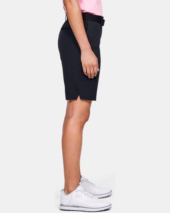Women's UA Links Shorts, Black, pdpMainDesktop image number 2