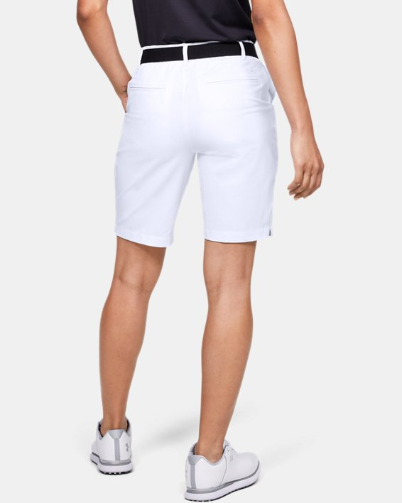 Women's UA Links Shorts, White, pdpMainDesktop image number 2