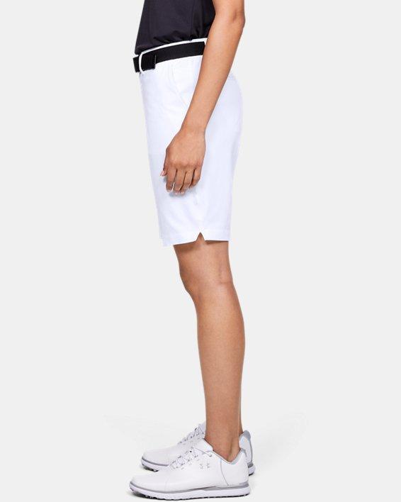 Women's UA Links Shorts, White, pdpMainDesktop image number 3