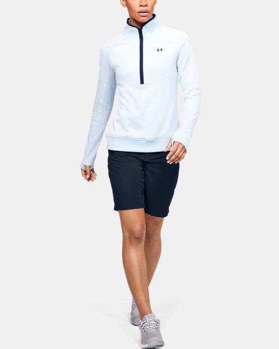 Women's UA Links Shorts, Navy, pdpMainDesktop image number 1