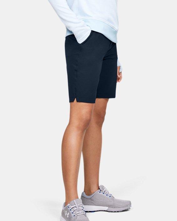 Women's UA Links Shorts, Navy, pdpMainDesktop image number 3