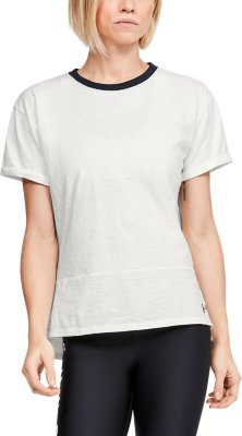 Under Armour Girls UA Charged Cotton T-Shirt