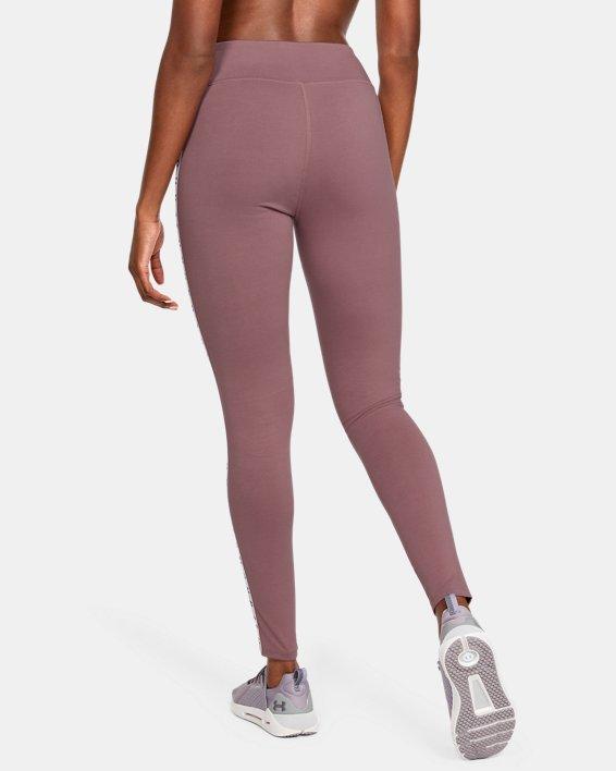 Women's UA Favorite Branded Leggings, Pink, pdpMainDesktop image number 2