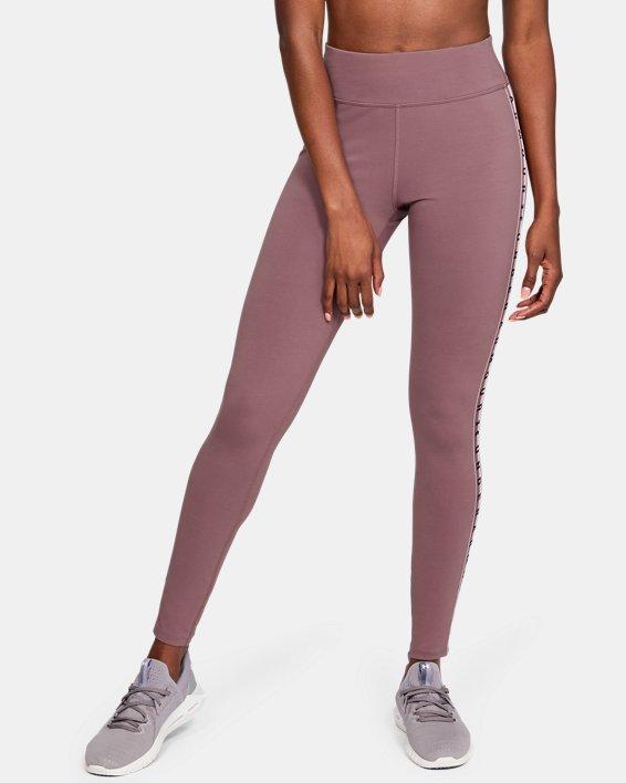 Women's UA Favorite Branded Leggings, Pink, pdpMainDesktop image number 0