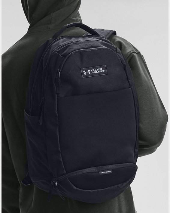 UA Recruit 3.0 Backpack, Black, pdpMainDesktop image number 0