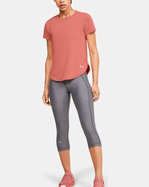 Women's UA Armour Sport Crossback Short Sleeve, Orange, pdpMainDesktop image number 1