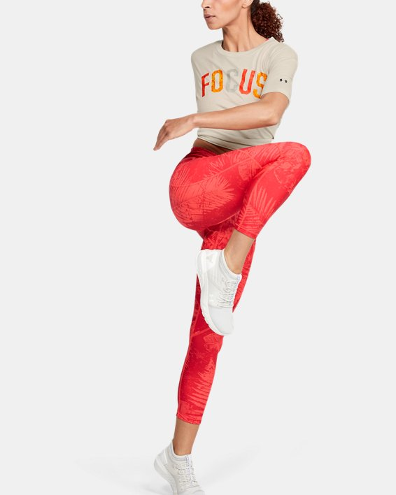 Women's Project Rock Mahalo Short Sleeve, White, pdpMainDesktop image number 1