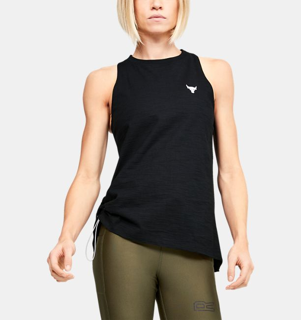 UA Project Rock Charged Cotton Tank