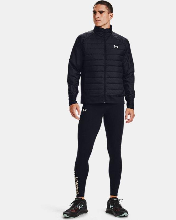 Men's UA Run Insulate Hybrid Jacket, Black, pdpMainDesktop image number 1