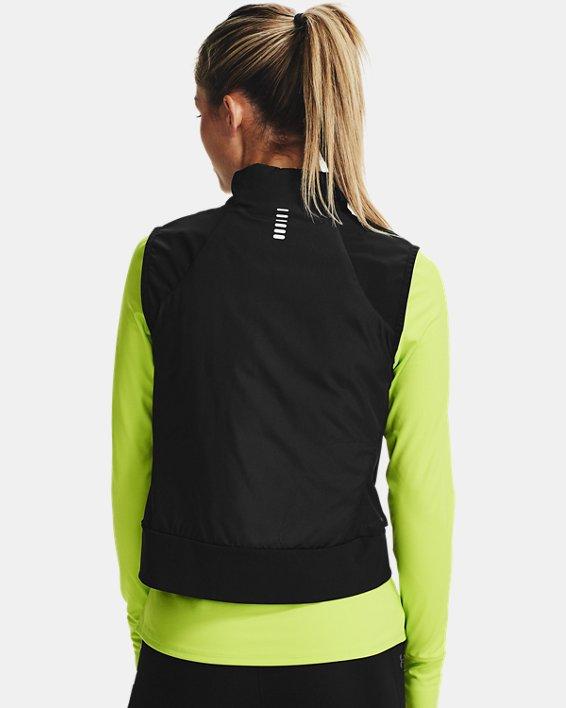 Women's ColdGear® Reactor Run Vest, Black, pdpMainDesktop image number 1