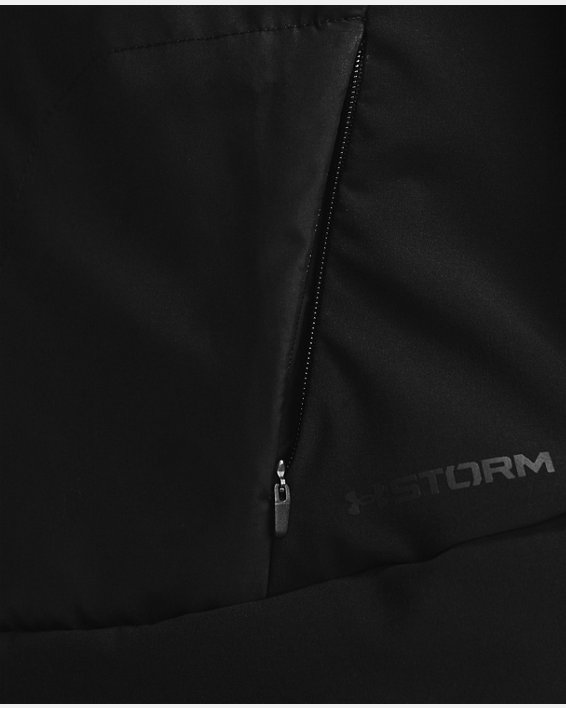 Women's ColdGear® Reactor Run Vest, Black, pdpMainDesktop image number 4