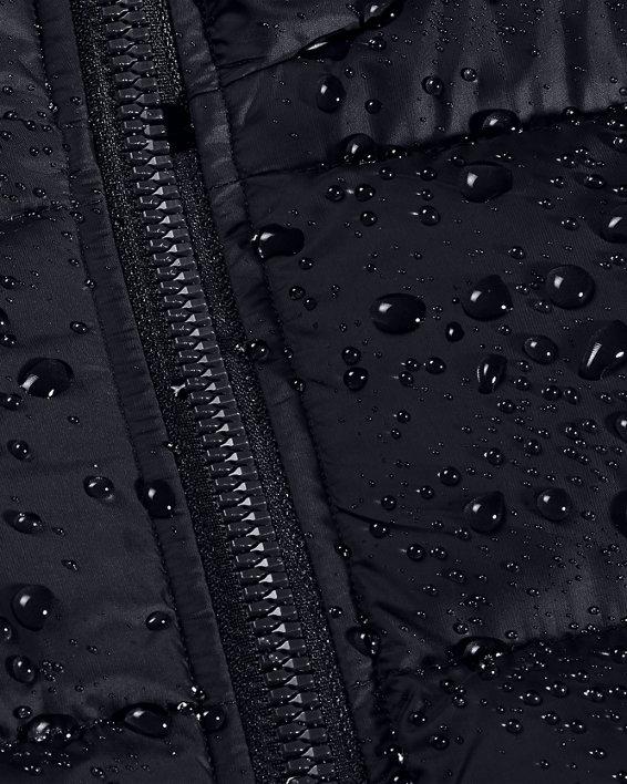 Women's UA Sportstyle Graphic Bench Coat, Black, pdpMainDesktop image number 6